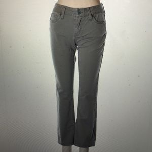 Juicy Couture Cropped Green Khaki Pants